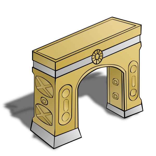 Meshed Arch PNG Clip art