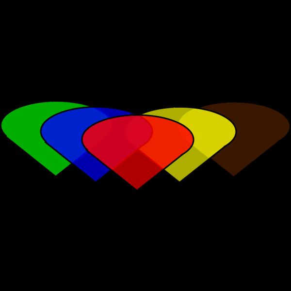 Colorful Diamonds PNG Clip art
