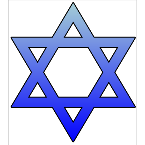 Star Of David Cutout PNG images