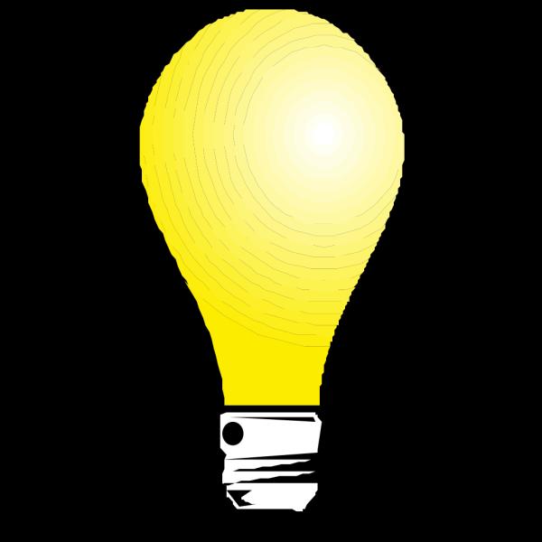 Light Bulb That Looks Like Faces PNG Clip art