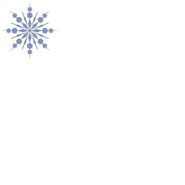 Snowflake PNG icons