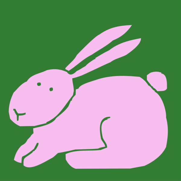 Bunny In Overalls PNG images