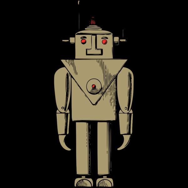 Robot Person Cartoon PNG Clip art