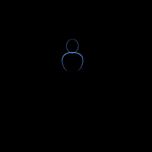 Person Outline 2 PNG Clip art