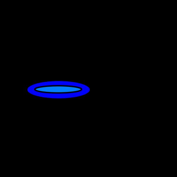 Blue Plate PNG Clip art
