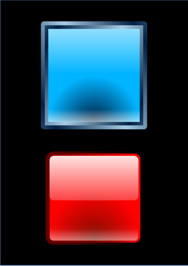 Rounded Light Blue We Sells Square PNG Clip art