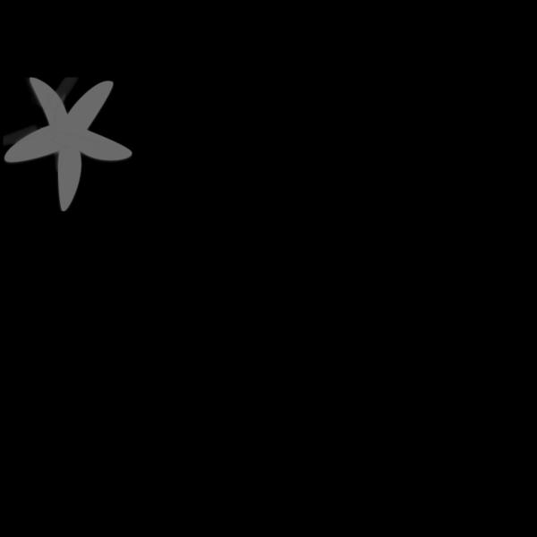 Blue White Starfish PNG Clip art