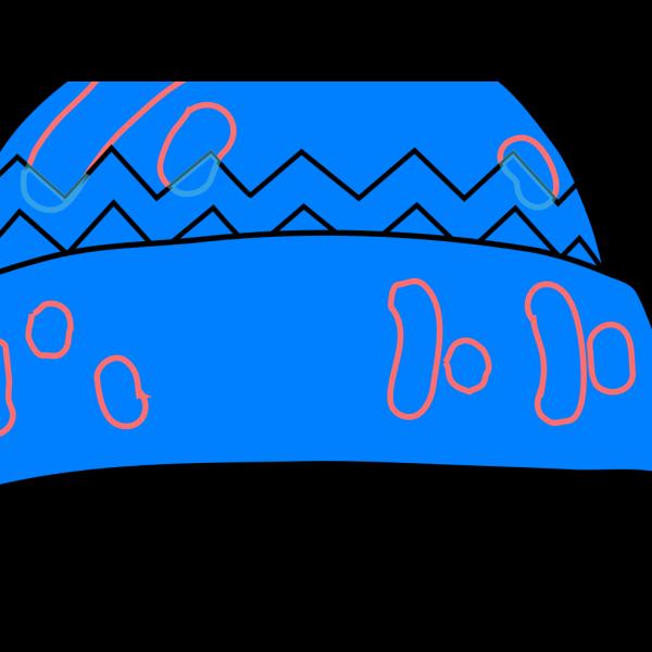 Winter Hat Blue PNG Clip art