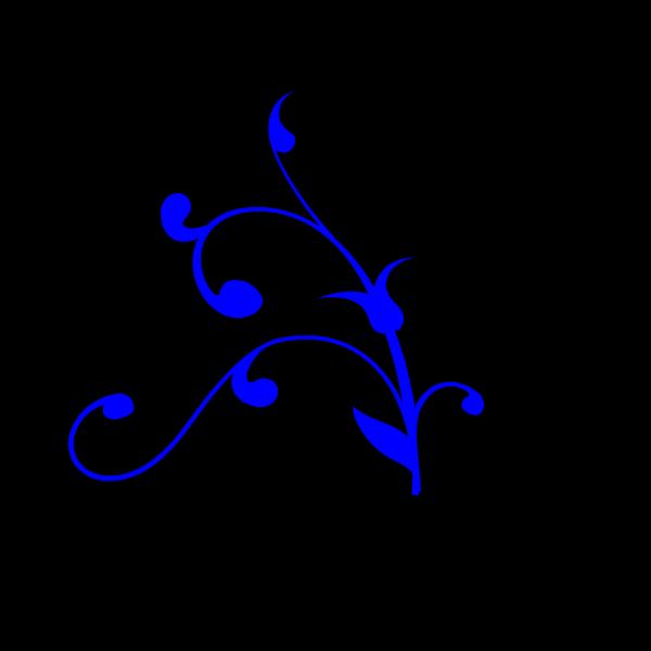 Dark Blue Swirl Thing PNG Clip art