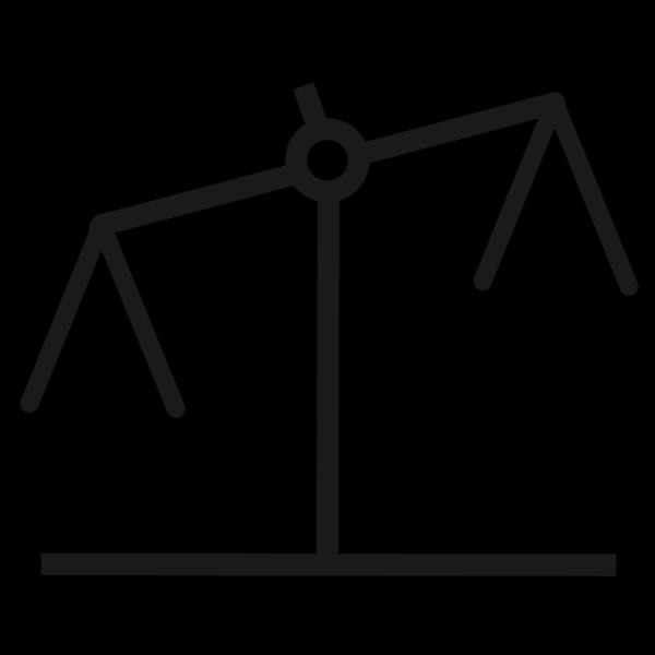 Blue Scale Line PNG Clip art