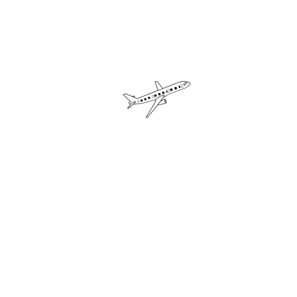 Airplane Blue PNG images