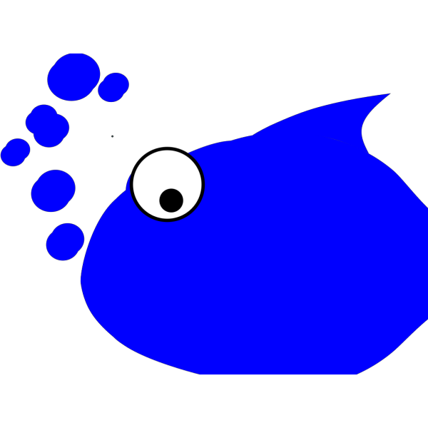 Blue Fish PNG icon