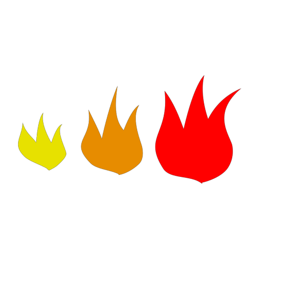 Blue Flame Simple Green PNG Clip art