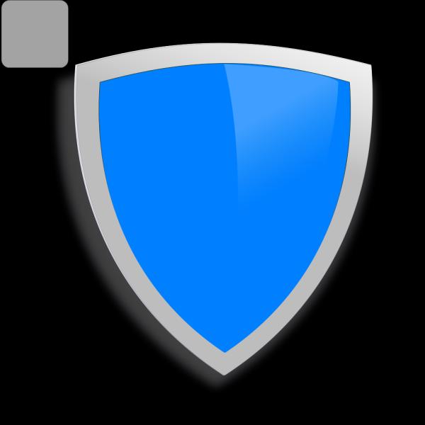 Blue Security Shield PNG Clip art