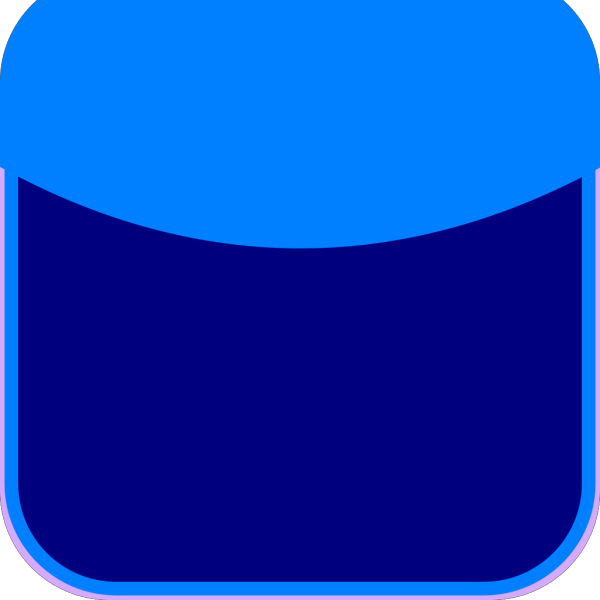 Dark Blue Sticky PNG Clip art