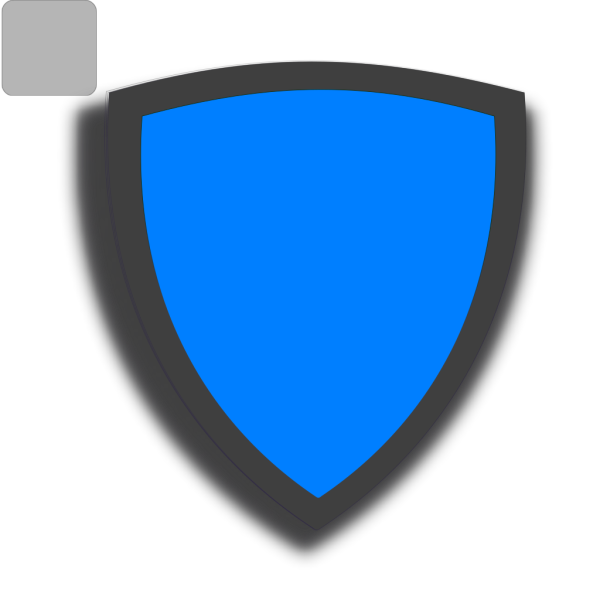 Blue Security Shield PNG clipart