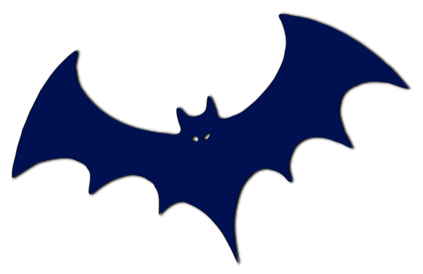 Blue Bat PNG Clip art