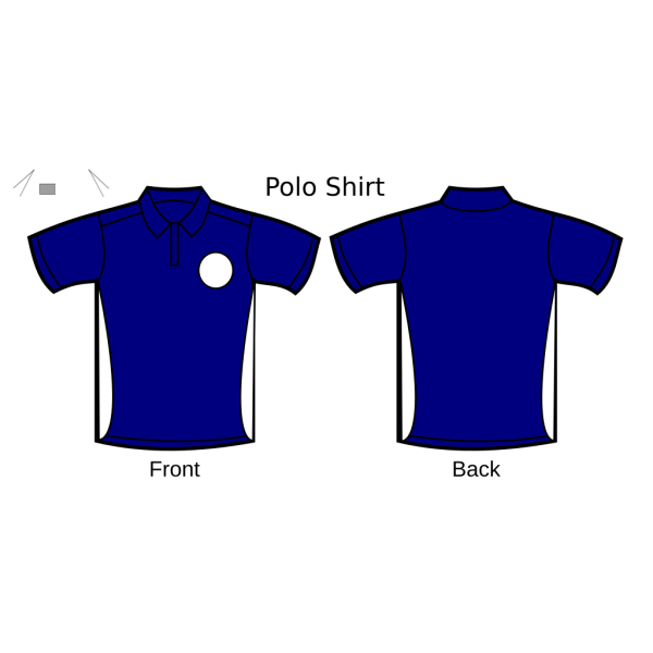 Polo Shirt 3 PNG Clip art