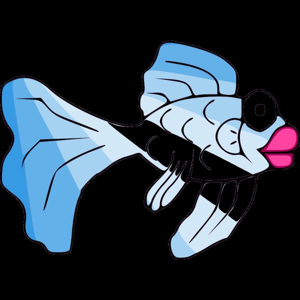 Blue Fish PNG Clip art