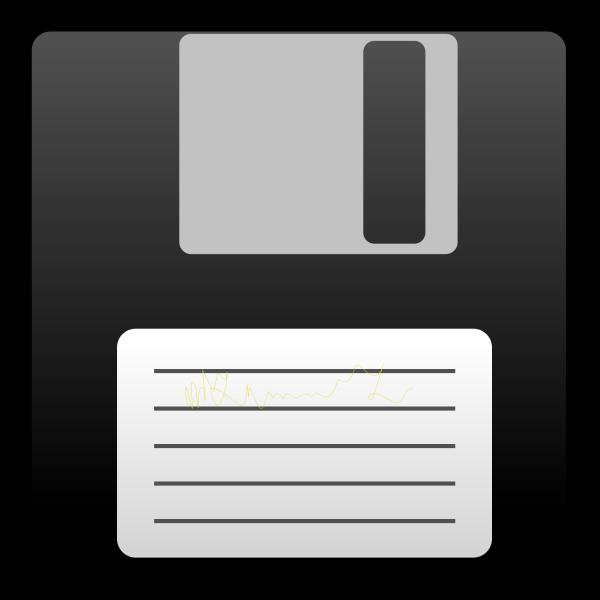 Blue Disk PNG Clip art