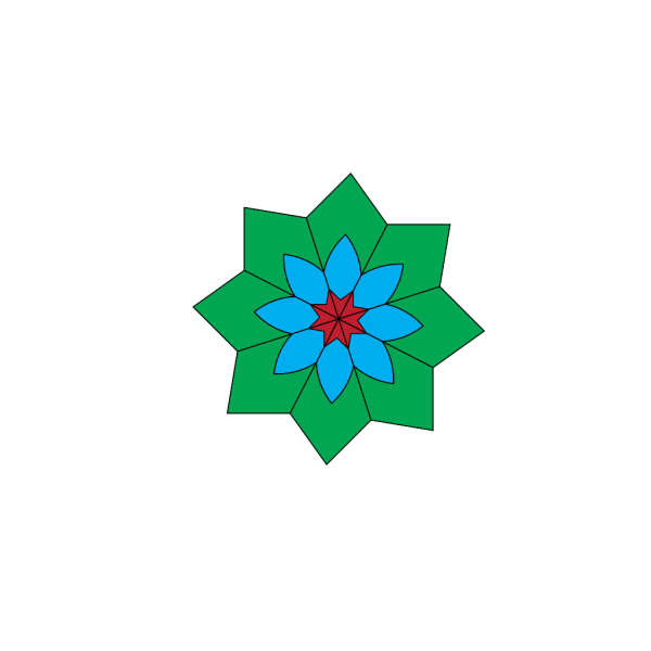 Kaleidoscope Colors PNG Clip art
