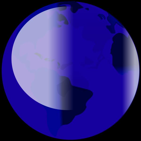 Blue Globe 1 PNG Clip art