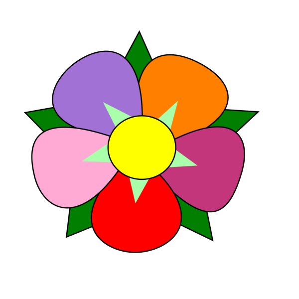 Lavender Lotus Flower PNG Clip art