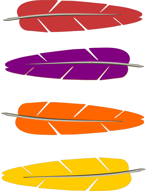Feathers PNG images