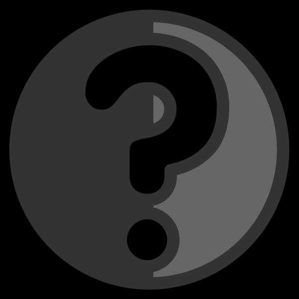 Question Button 2 PNG Clip art