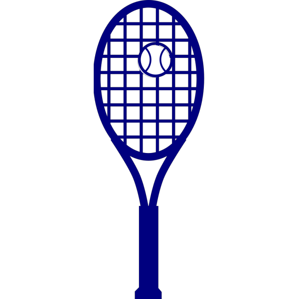 Blue Tennis Racket PNG images