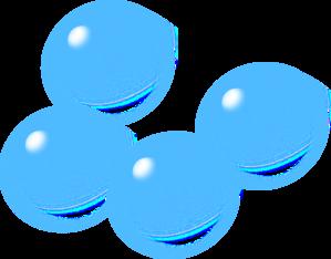 Blue Bubbles PNG Clip art