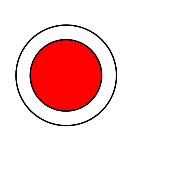 Red Circle 3 PNG Clip art
