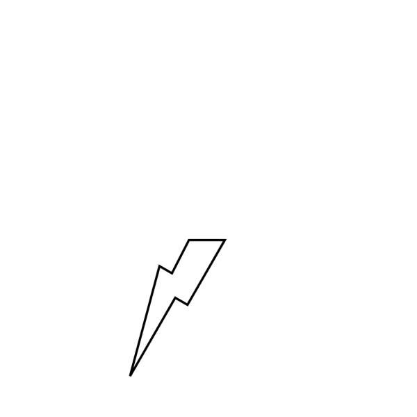 Lightening Bolt PNG Clip art