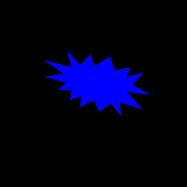 Cartoon-star-voice-bubble PNG Clip art