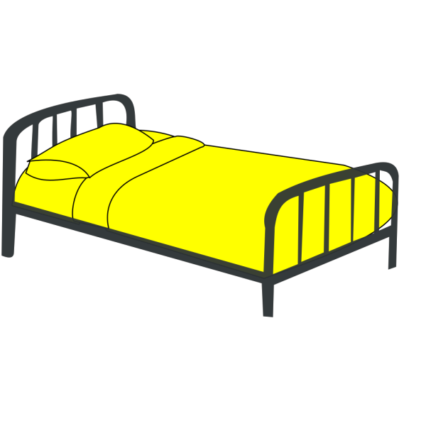 Post Bed PNG Clip art