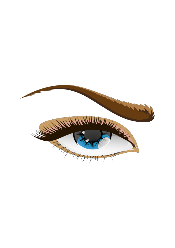 Light Blue Eye PNG Clip art