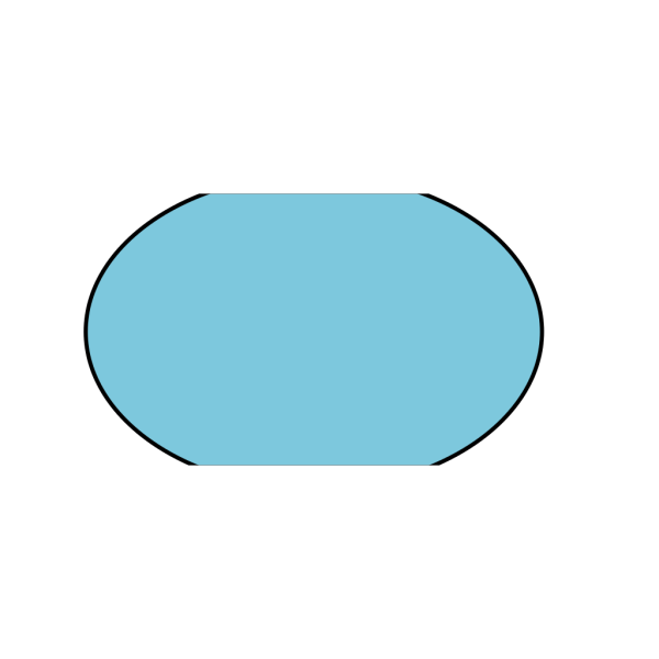 Light Blue Circle PNG Clip art