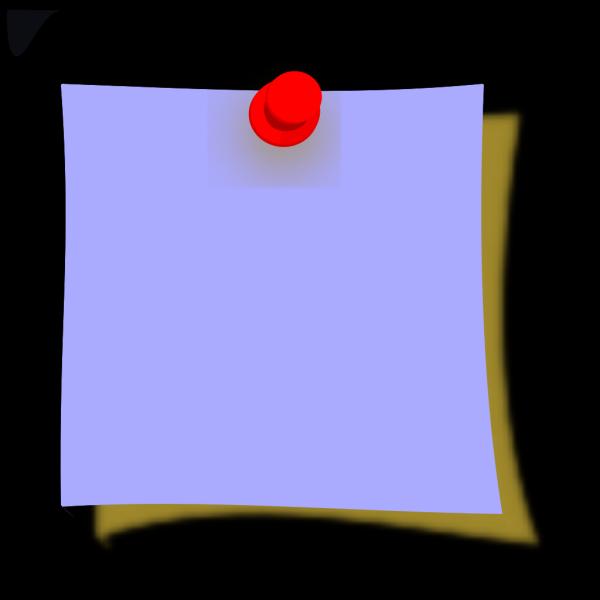 New Blue Sticky PNG Clip art
