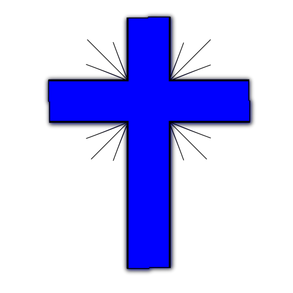 Blue Cross 2 PNG clipart