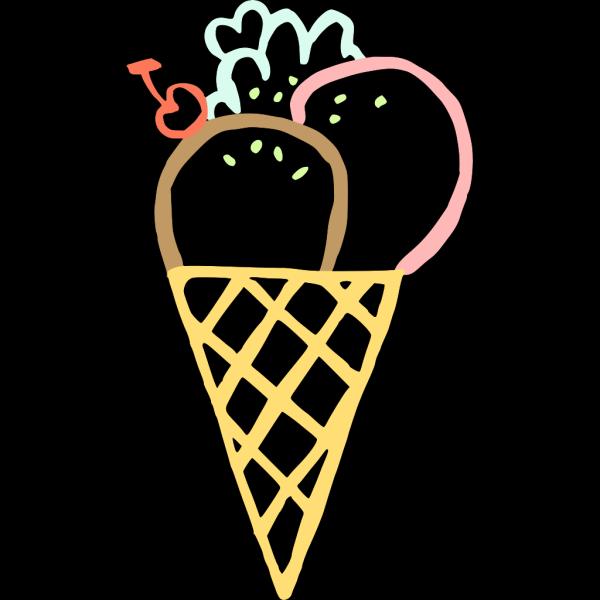 Ice Cream Cones PNG Clip art