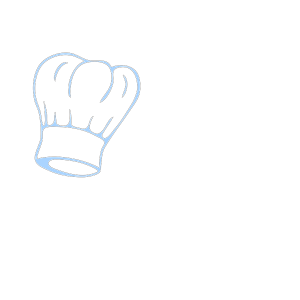 Chef Hat Blue PNG images