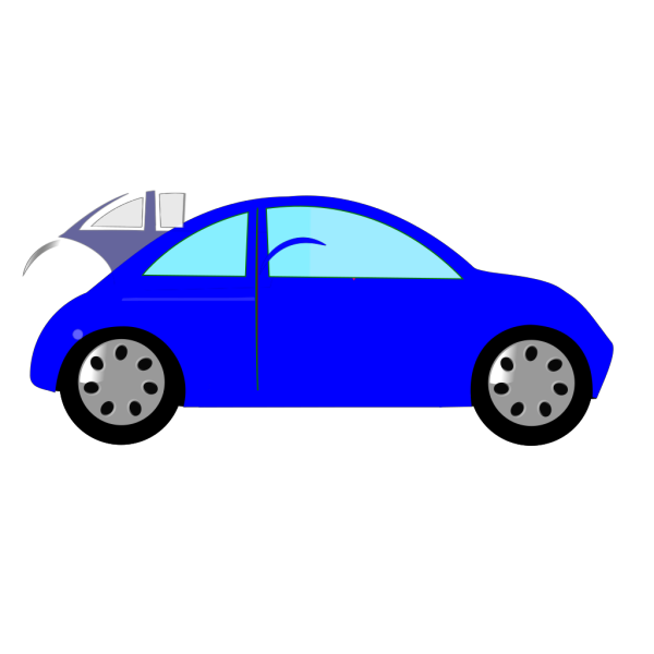 Blue Car2 PNG icons