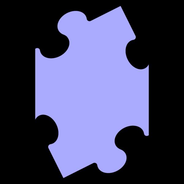 Puzzle Piece Blue PNG Clip art