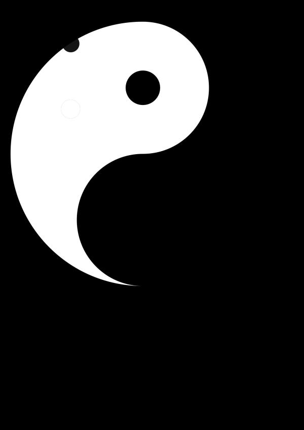 Yin Yang 17 PNG Clip art