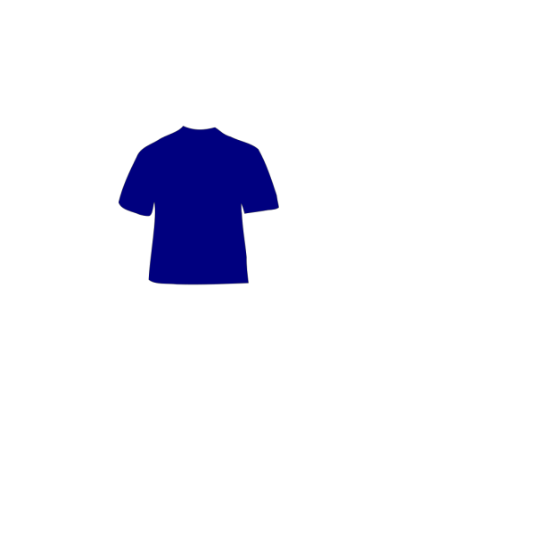 Blue Shirt PNG Clip art
