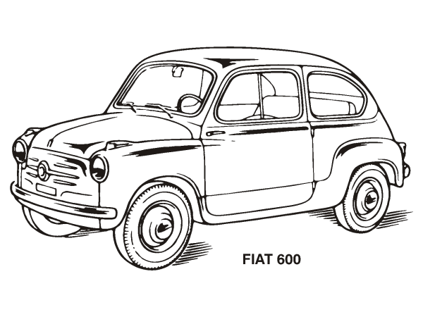 Blue Vintage Car PNG icons
