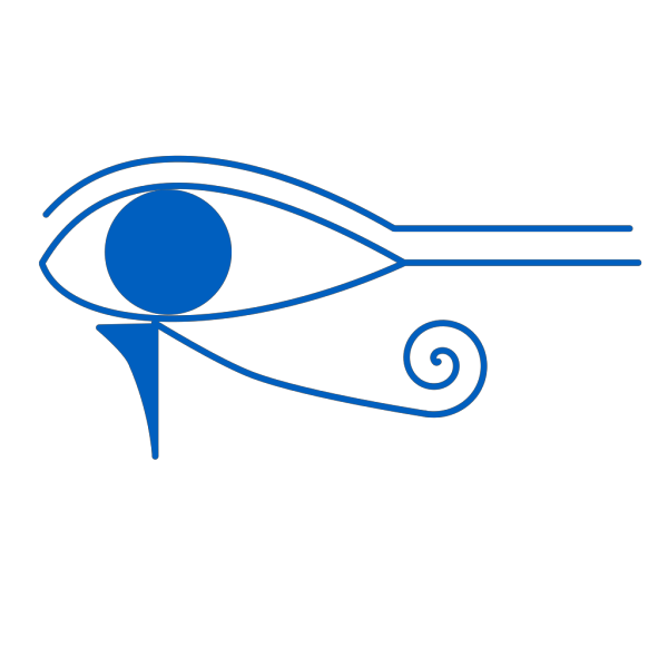 Blue. Eye Of Horus PNG Clip art