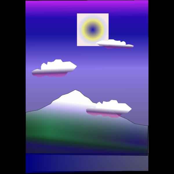 Mountain PNG Clip art