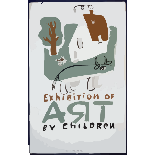 Exhibition Of Art By Children  / Osborn. PNG icons