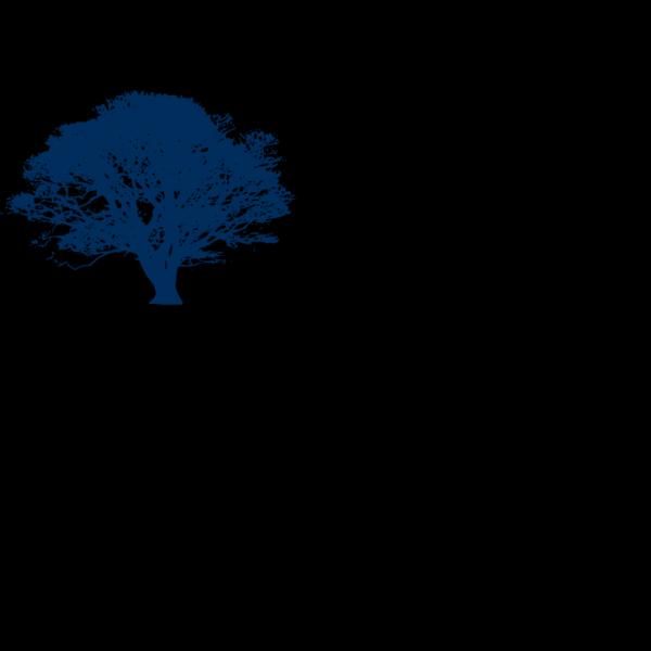 Blue Tree 23 PNG Clip art